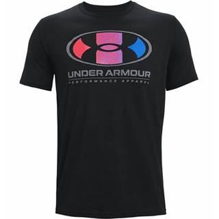Pánske tričko  Multi Color Lockertag SS Black - S