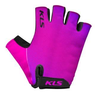 Cyklo rukavice  Factor Purple - XL