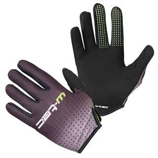 Motokrosové rukavice  Montmelo čierno-zelená - S