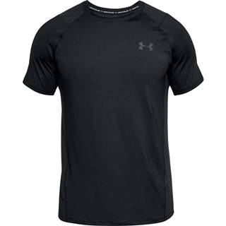 Pánske tričko Under Armour Raid 2.0 SS Left Chest Black - M