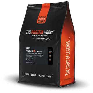 TPW whey protein 80 500 g salted caramel bandit