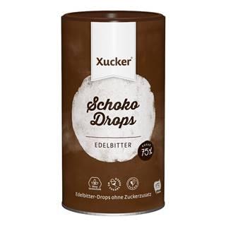 Xucker Chocolate Drops tmavá čokoláda 750 g horká čokoláda