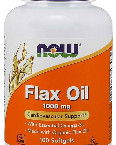 Ľanový olej 1000 mg 100 kaps.
