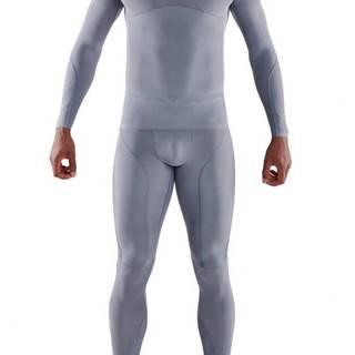 Kompresné tričko Long Sleeve Series-5 Grey  S