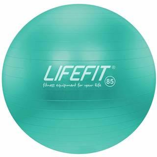 Gymnastický míč LIFEFIT ANTI-BURST 85 cm, tyrkysový