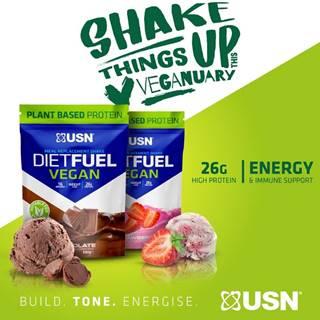 Diet Fuel Vegan -  880 g Chocolate