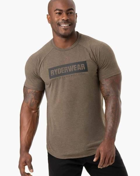 Pánske tričko Iron Khaki Marl  S