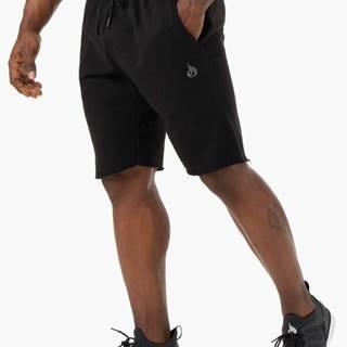 Pánske šortky Iron Track Black  S