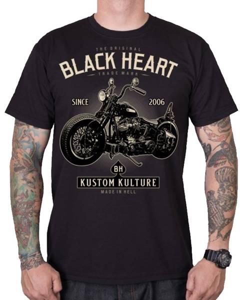 Tričko  Motorcycle čierna - M