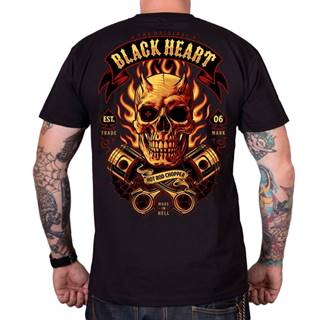 Tričko  Hell Boy čierna - M