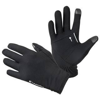 Bežecké rukavice inSPORTline Vilvidero čierna - S
