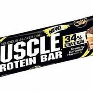 All Stars Muscle Protein Bar 34% 80g čokoláda-karamel