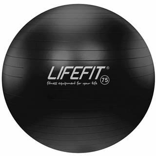 Gymnastický míč LIFEFIT ANTI-BURST 75 cm, černý