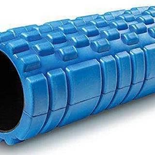 Masážní VÁLEC YOGA FOAM ROLLER  33x14 cm - Modrá