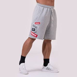 Pánske šortky Logo Tapping Grey  M