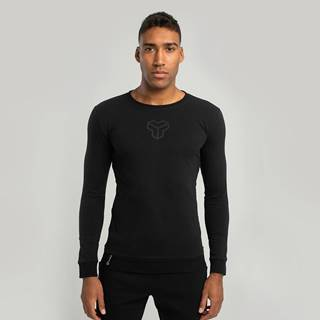 Tričko s dlhým rukávom Essential Black  S