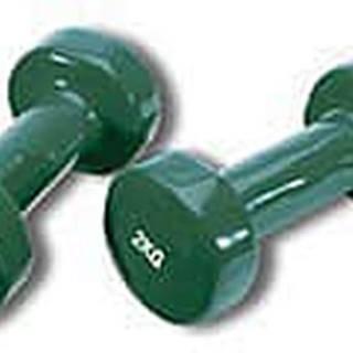 Činka aerobic 2 x 2 kg TUNTURI Vinyl zelená