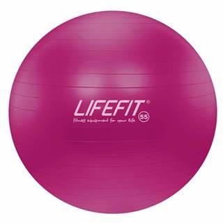 Gymnastický míč LIFEFIT ANTI-BURST 55 cm, bordó