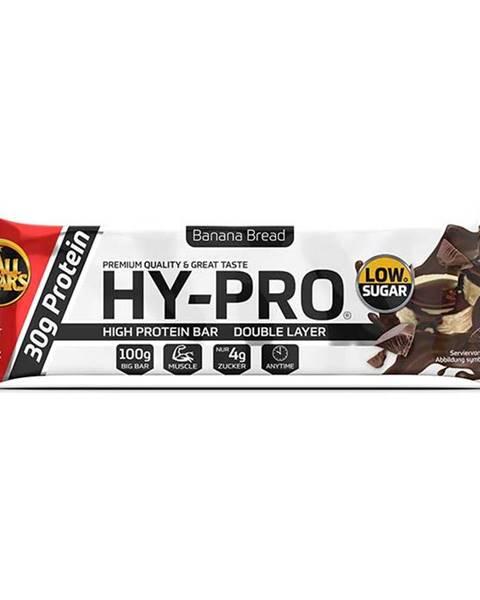 HY-PRO Deluxe bar 100 g chrumkavá dvojitá čokoláda