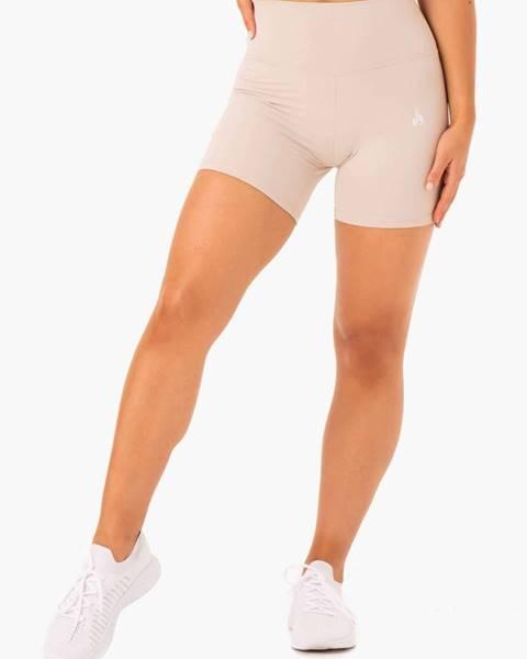 Ryderwear Dámske šortky High Waisted Nude  XS