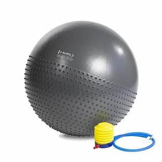 Masážní gymnastický míč  YB03 75 cm, černý