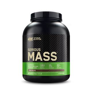 Optimum Nutrition Serious Mass 5450 g čokoláda