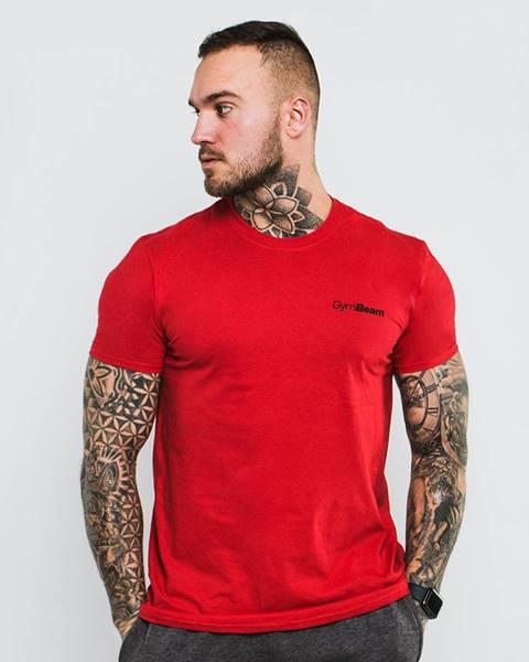 GymBeam Men's T-shirt Basic Cherry Red  S