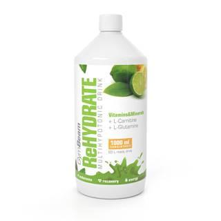 GymBeam ReHydrate 1000 ml zelený čaj s limetkou