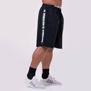 Pánske šortky Lampas Black  XL