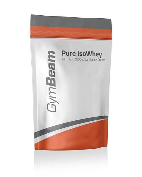 GymBeam Pure IsoWhey 2500 g jahodový krém