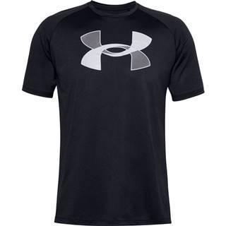Pánske tričko  Big Logo Tech SS Black - M