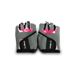 Fitness Dámske rukavice Camo Pink  XS