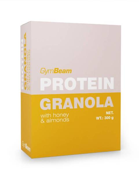 Proteínová granola s medom a mandľami 300 g