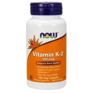 Vitamín K-2 100 mcg 100 kaps.