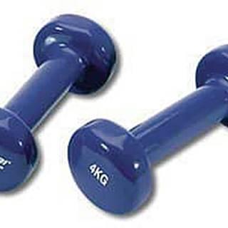 Činka aerobic 2 x 4 kg TUNTURI Vinyl modrá