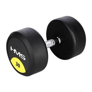Pogumovaná jednoruční činka  HG Pro 30 kg
