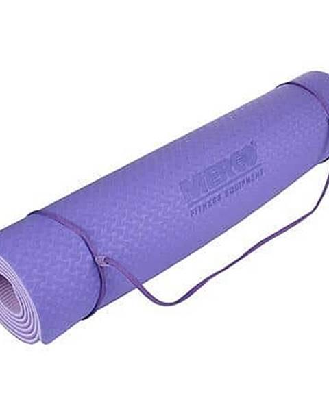 Yoga TPE 6 Double Mat podložka na cvičení fialová-fialová