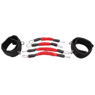 Leg Trainer Set odporové gumy sada červená