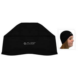 Reflexní běžecká čepice M/L černá