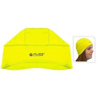 Reflexní běžecká čepice M/L žlutá
