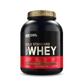 100 Whey Gold Standard 2270 g banánový krém