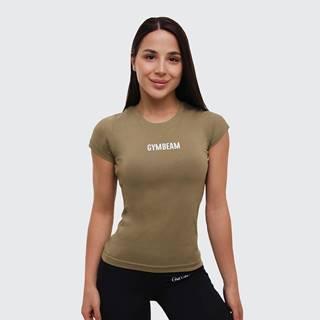 Dámske tričko FIT Olive  XXL