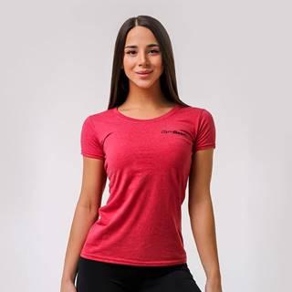 Dámske tričko Basic Vintage Red  XXL