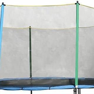 Ochranná sieť bez tyčí k trampolínam 430 cm na 8 tyčí