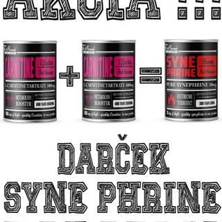 2+1 Zadarmo: Carnitine Tabletový + Synephrine Zadarmo -  100 tbl. + 100 tbl. +100 tbl.