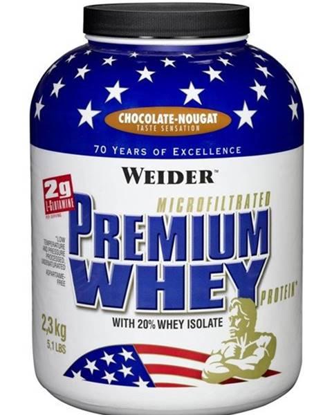 Premium Whey - Weider 2300 g Chocolate Nougat