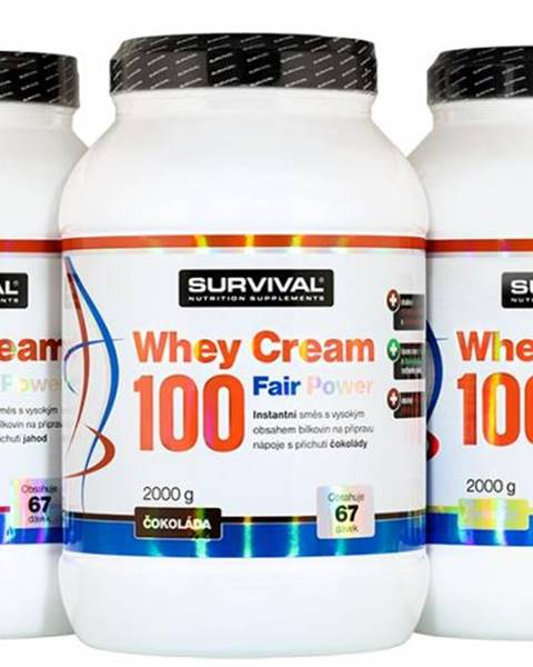 Whey Cream 100 Fair Power čokoláda 1000g