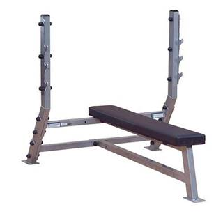 Body Solid SFB349G profesionálna rovná lavica na benchpress