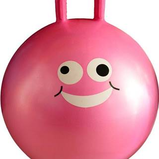 Lifefit Dětský skákací míč JUMPING BALL 45 cm růžový