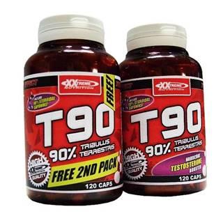T90 - Extreme Testosterone Booster 1+1 ZADARMO 120kps. + 120kps. zdarma! 120kps. + 120kps. zdarma!
